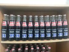 Duke Blue Devils - 1991 NCAA Champions Glass Coca-Cola Bottle