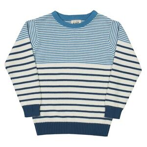 Beautiful Sailor style Jersey in 100% Organic Cotton. Quality Jumper. UK stock.