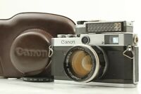 【Exc+5 w/ Case】 Canon P Rangefinder Camera w/ 50mm f/1.4 L39 Lens from JAPAN