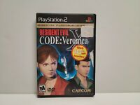 Resident Evil CODE Veronica X (Sony PlayStation 2) PS2 TESTED (No Demo)