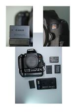 cannon eos rebel t7i camera 1080p extra batteries battery grip flip screen