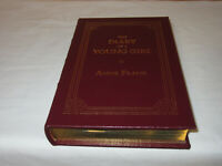 Easton Press THE DIARY OF A YOUNG GIRL Anne Frank 2002 LEATHER FINE Collector's!