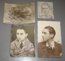 Jewish Judaica 1932 Old Photos Russia Soviet CCCP Jews German Written Pre WW2