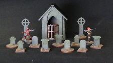 TTCombat - Wild West Scenics - WWS021 - Graveyard & Cemetery Kit