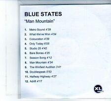 (DU642) Blue States, Man Mountain - DJ CD