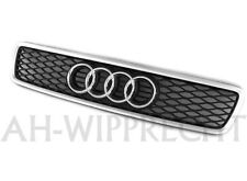 NEU Original Audi RS4 S4 A4 8D B5 Chrom Alu Kühlergrill Grill Frontgrill Gitter