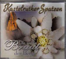 Kastelruther Spatzen-Die Weisse Braut der Berge cd maxi single