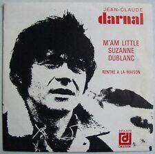 Jean claude DARNAL (SP 45 Tours)  M'AM LITTLE SUZANNE DUBLANC