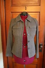 Womens Gray Wool Winter Coat American Eagle Outfitters Size Small