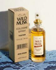 Vintage Wild Musk Cologne Spray by Coty 1.5 Oz. Tester