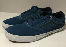 Vans Mens Off The Wall  Skateboard Lace Up Shoes Sneakers Blue Size 12