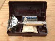 Vintage Mint Ever Ready Safety Razor in Case with NOS Blade