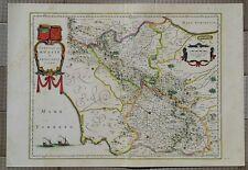 MAPPA MOLISE 1640 CONTADO ISERNIA BENEVENTO NAPOLI AVELLINO CAPUA CONZA ASCOLI