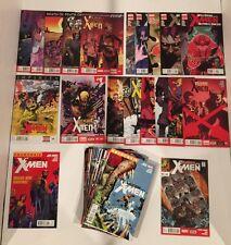 LOT OF 61 WOLVERINE AND THE X-MEN V1 #1-42 + V2 #1-12 COMPLETE SETS  + MINI #1-5