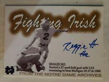 2007 TK Legacy AR3 Reggie Ho 95/100 Autographed Notre Dame Fighting Irish