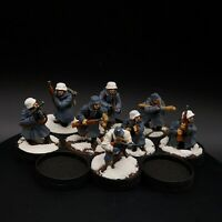 Well Painted 28mm Bolt Action winter german grenadiers ×8 squad #3 ww2
