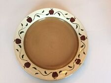 Mill Creek Stoneware Apple Plate 11""