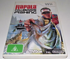 Rapala Pro Bass Fishing Nintendo Wii PAL *Complete* Wii U Compatible