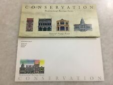 (JC) Singapore - Architectural Heritage Series - Conservation 1996 PP FDC