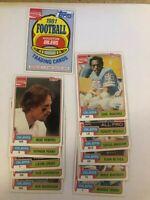 1981 Coca Cola Houston Oilers 11 card team set