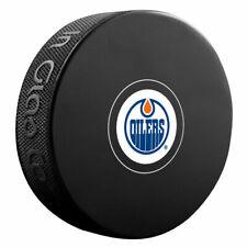Edmonton Oilers Official NHL Logo Souvenir Autograph Hockey Puck New