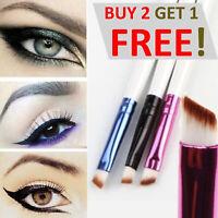 Professional Angled Slanted Makeup Brush For Eyeshadow Eyeliner Eyebrow Powder