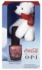 New Opi Coca Cola Bear Ornament - Bearest of Them All - Lacquer Nail polish Set