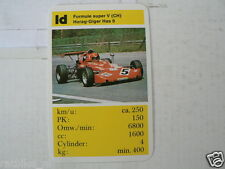 63-GRAND PRIX F1 RENWAGENS 1D HORAG - GIGER HAS 6 FORMULE SUPER V