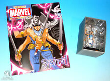 Spiral Statue Marvel Classic Collection Die-Cast Figurine Limited Edition #158