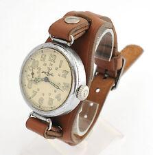2Q-1940 WWII KIROVSKIE KIROVKA Kirova Russian Soviet watch + leather strap
