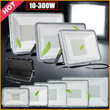 LED Fluter Strahler Scheinwerfer Flutlicht 10W 50W 100W 300W SMD Außen 220V IP67