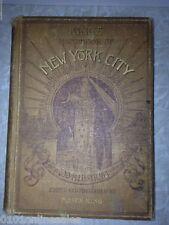 "Uncommon 1892 Book"" Kings Handbook Of New York City"" Hardcover"