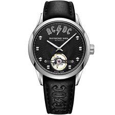 Raymond Weil 2780-STC-ACDC1 Men's Freelancer ACDC Black Automatic Watch