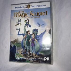 The Magic Sword Quest For Camelot Rare DVD
