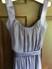 AFTER SIX GRAY GREY CHIFFON DRESS WEDDING ANNIVERSARY SPECIAL OCCASION 10 -12