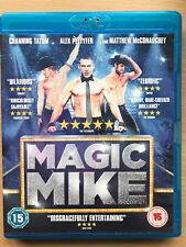Channing Tatum Matthew McConaughey Magic Mike 2012 Stripper Drama UK Blu-ray