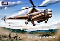 Helicopter Sikorsky R-5/S-51 USAF 1/48 AMP 48002