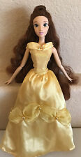 """Disney Store Singing Doll Princess Beauty And The Beast Belle  Large 17"""" Working"""