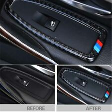 Carbon Door Window Mirror Adjust Switch Cover For BMW 1-Series 5Door F20 2013-18