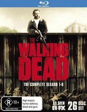 The Walking Dead Season 1 - 6 Blu-ray Region B