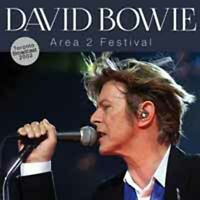 AREA 2 FESTIVAL  by DAVID BOWIE  Compact Disc  SON0376 rare live show