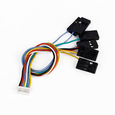 6 in 1 CC3D Flight Controller #v JST-SH 8Pin Connection CABLE Set *Receiver Port