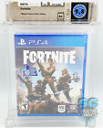 PS4 - FORTNITE - FACTORY SEALED - WATA 9.8 A+ - EPIC GAMES 2017 - FIRST PRINT