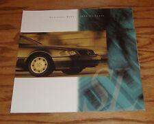 Original 1994 Mercedes-Benz SL-Class Deluxe Sales Brochure 94 320 500 600