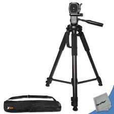 Durable Pro Grade 72 inch Tripod For Canon ESO Rebel T3 1100D DSLR Cameras