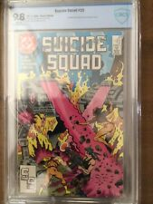 Suicide Squad #23 (1st cameo app. of Oracle), CBCS 9.8 (like CGC)