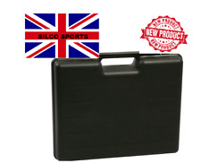 LARGE HARD PLASTIC PISTOL GUN CASE Carry Box Holder Airsoft Airgun black - 2019