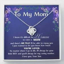 Necklace Mother Day Gift You'll Always Be My Caring Mother Jewelry For Mother