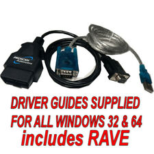 Range Rover P38 2.5/4.0/4.4 Air Suspension (EAS) USB Reset Cable, + RAVE