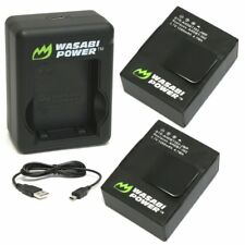 Wasabi Power Battery (2-Pack) and Dual Charger for GoPro Hero3, Hero3+ and Go...
